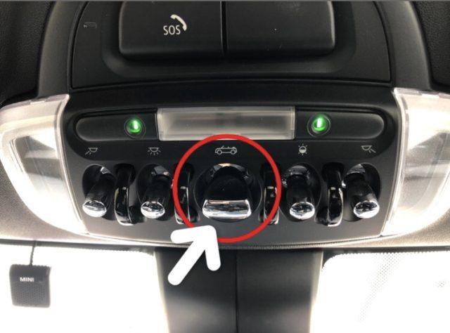 エクセルレンタカー沖縄 MINIコンバーチブルボタン